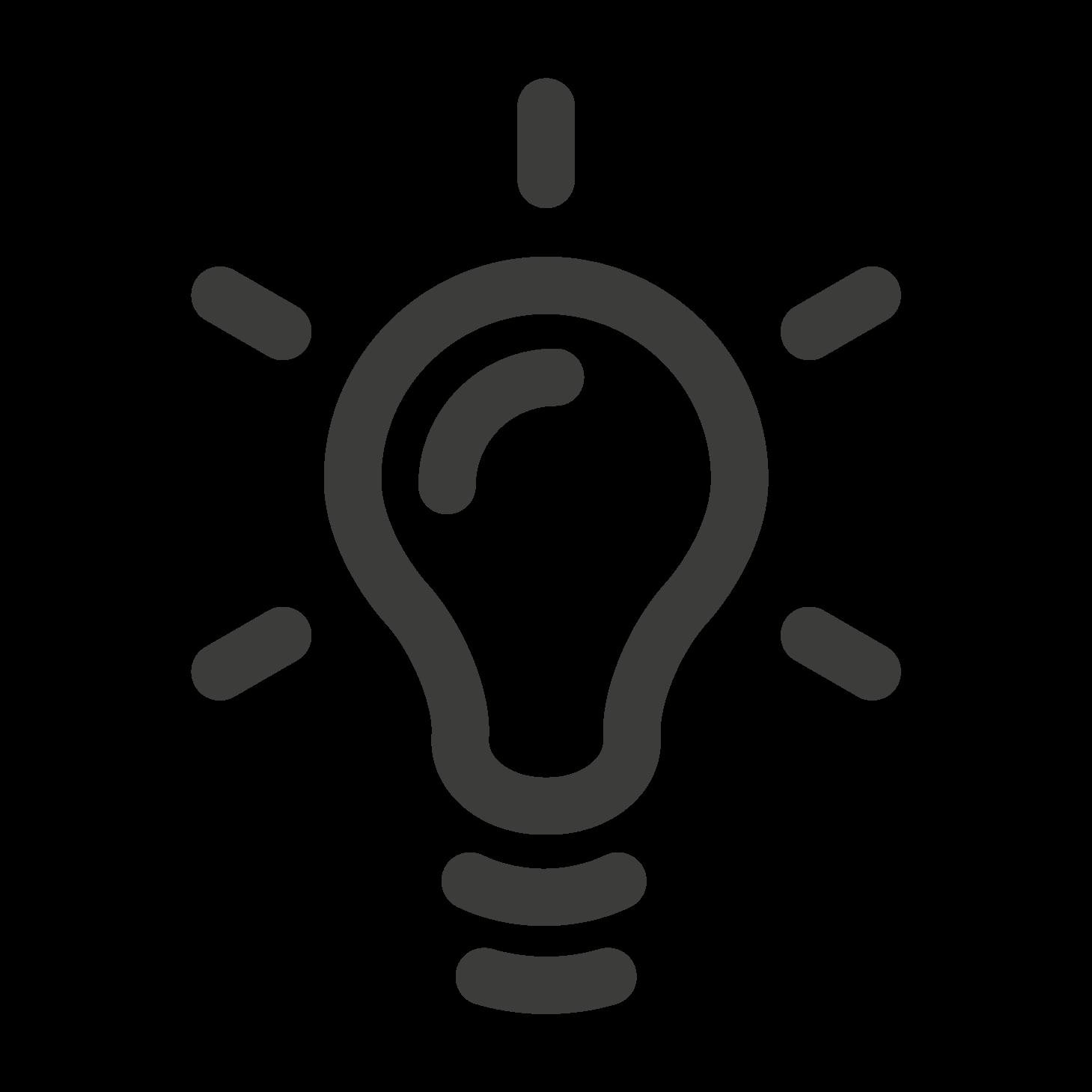 Glühbirne Icon