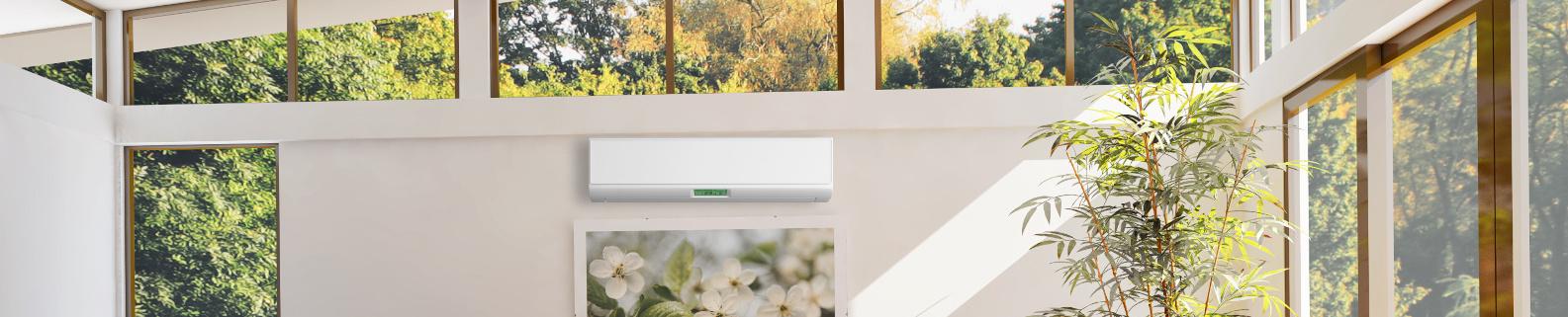 Klimaanlage im Wohnzimmer