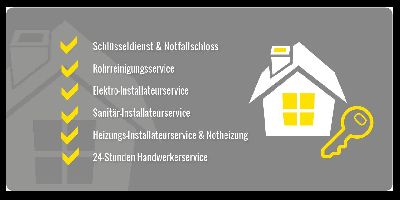 Haus mit Schlüssel - Services